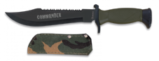 Camouflage Commander Fixed Blade Knife